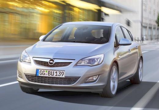 OPEL Astra IV I hatchback silver grey przedni lewy