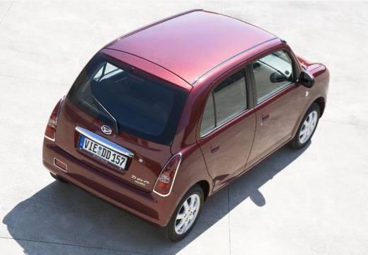 DAIHATSU Trevis hatchback bordeaux (czerwony ciemny) tylny prawy
