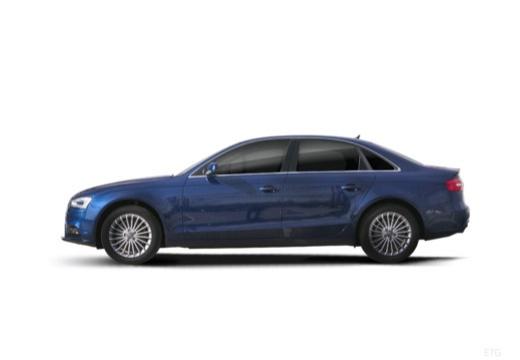 AUDI A4 B8 II sedan boczny lewy