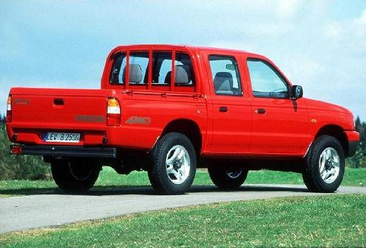 MAZDA B-seria B 2500 I pickup czerwony jasny tylny prawy