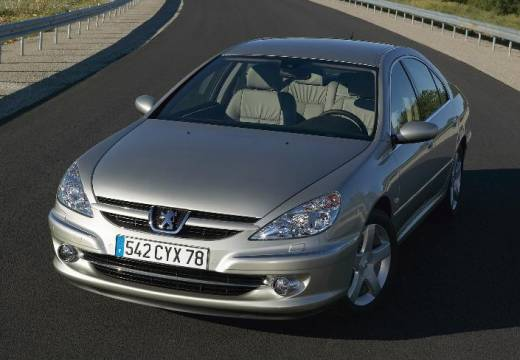 PEUGEOT 607 II sedan silver grey przedni lewy