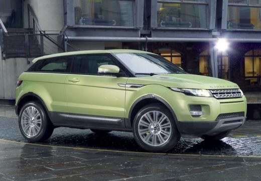 LAND ROVER Range Rover Evoque I kombi zielony przedni prawy