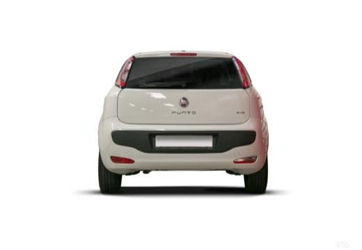 FIAT Punto Evo hatchback biały tylny