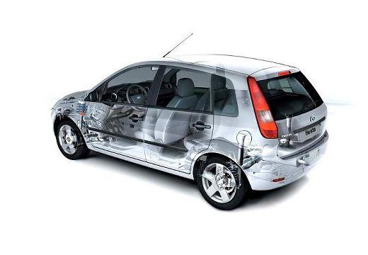 FORD Fiesta hatchback prześwietlenie