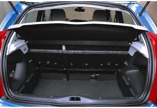 CITROEN C3 I hatchback niebieski jasny przestrzeń załadunkowa