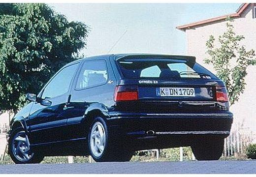 CITROEN ZX I hatchback czarny tylny lewy
