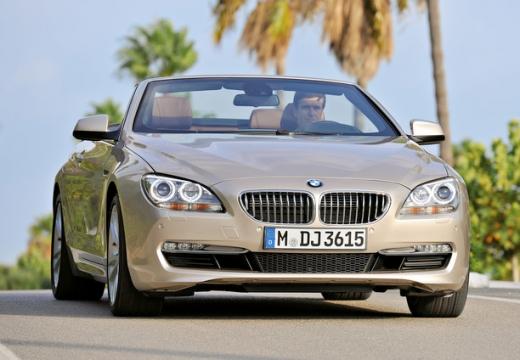 BMW Seria 6 kabriolet beige przedni prawy