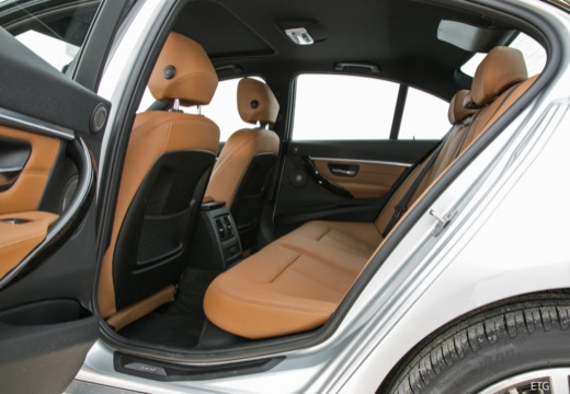 BMW Seria 3 F30/F80 sedan wnętrze