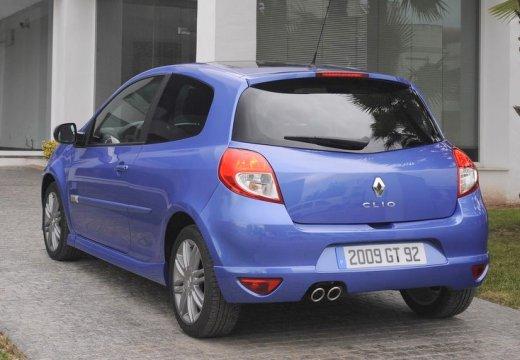 RENAULT Clio III II hatchback niebieski jasny tylny lewy
