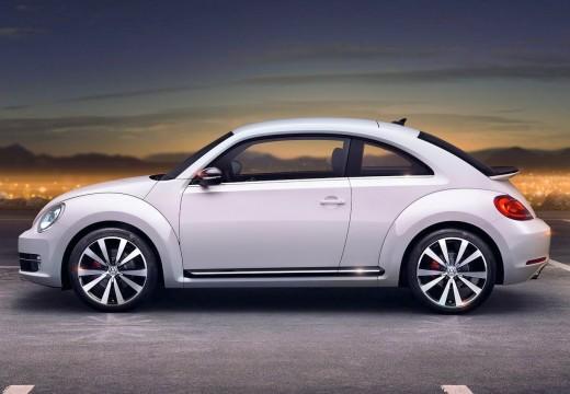 VOLKSWAGEN New Beetle Beetle I coupe biały boczny lewy