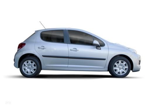PEUGEOT 207 II hatchback boczny prawy