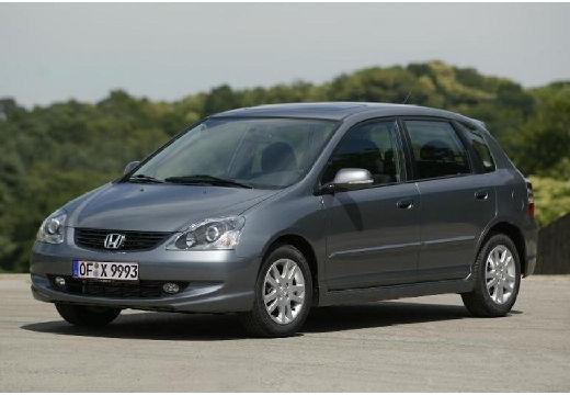 HONDA Civic V hatchback silver grey przedni lewy