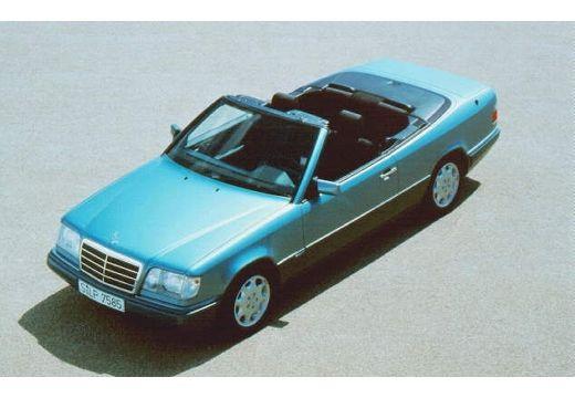 MERCEDES-BENZ Klasa E Cabrio 124 kabriolet niebieski jasny górny przedni