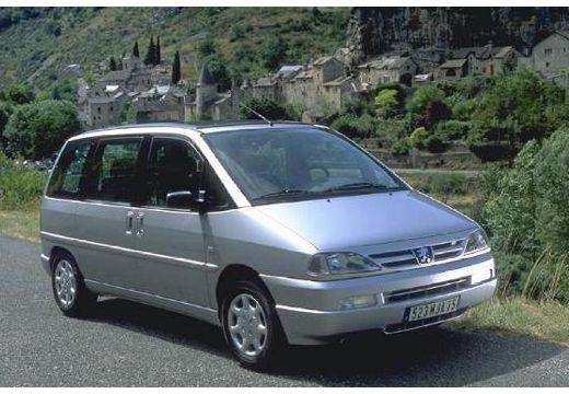 PEUGEOT 806 I van silver grey przedni prawy