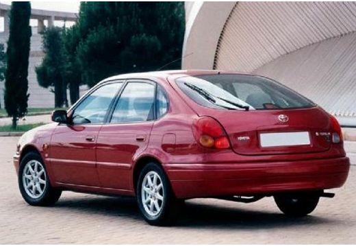 Toyota Corolla Liftback IV hatchback bordeaux (czerwony ciemny) tylny lewy