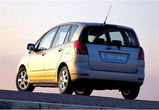 Toyota Corolla kombi mpv silver grey tylny lewy