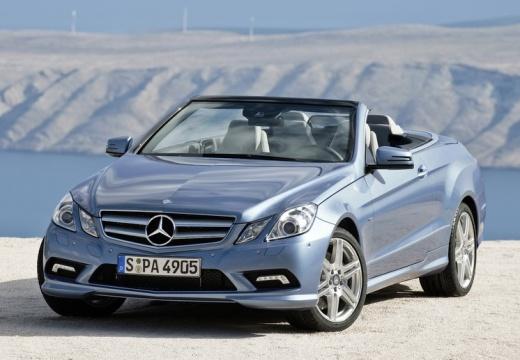 MERCEDES-BENZ Klasa E Cabrio A 207 I kabriolet niebieski jasny przedni lewy