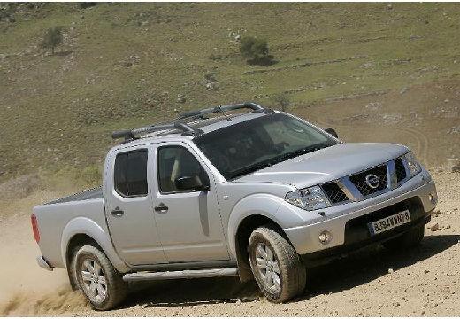 NISSAN Navara II pickup silver grey przedni prawy