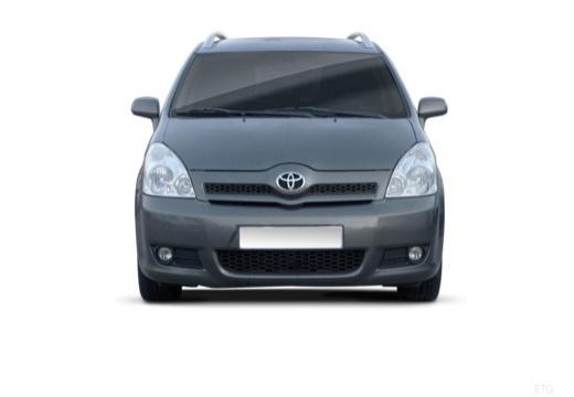 Toyota Corolla Verso II kombi mpv przedni