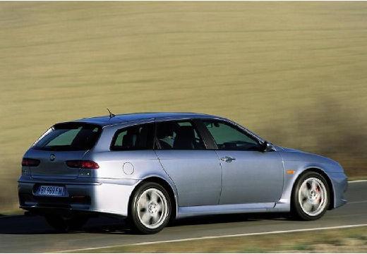 ALFA ROMEO 156 Sportwagon III kombi silver grey tylny prawy