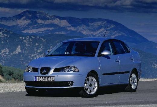 SEAT Cordoba III sedan silver grey przedni lewy
