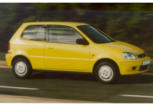 HONDA Logo hatchback żółty przedni prawy