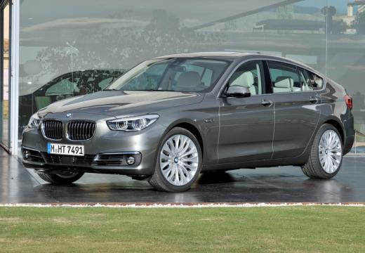 BMW Seria 5 Gran Turismo F07 II hatchback silver grey przedni lewy
