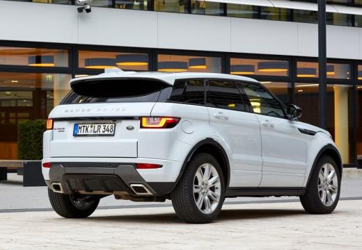 LAND ROVER Range Rover Evoque II kombi biały tylny prawy