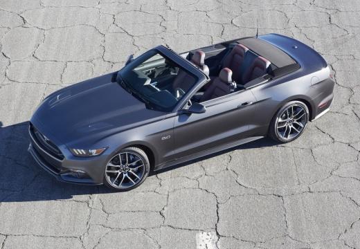 FORD Mustang kabriolet szary ciemny przedni lewy