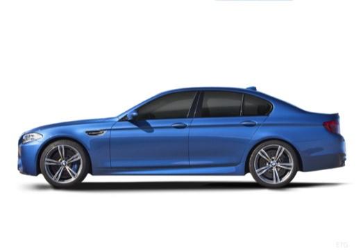 BMW Seria 5 F10 II sedan boczny lewy