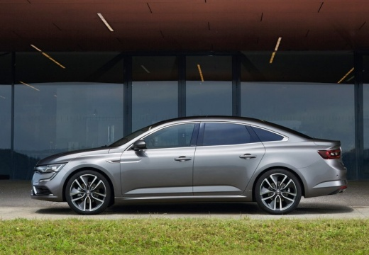 RENAULT Talisman sedan silver grey boczny lewy