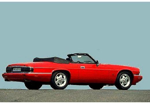 JAGUAR XJS Targa Convertible kabriolet czerwony jasny tylny prawy