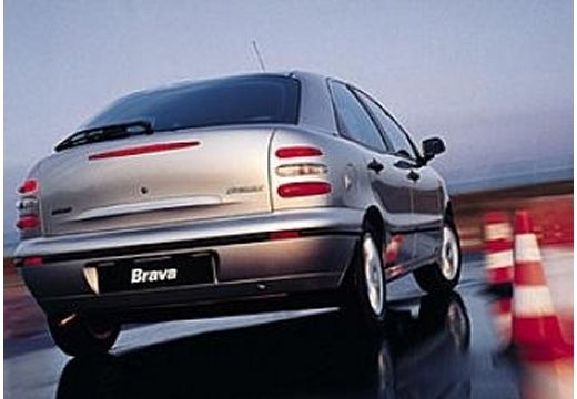 FIAT Brava I hatchback silver grey tylny prawy