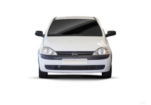 OPEL Corsa C II hatchback biały przedni