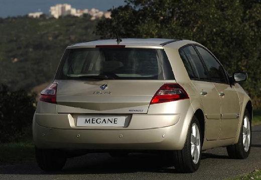 RENAULT Megane II II hatchback beige tylny prawy