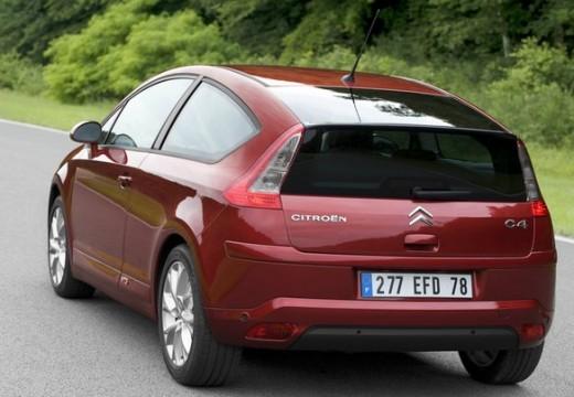 CITROEN C4 II hatchback czerwony jasny tylny lewy