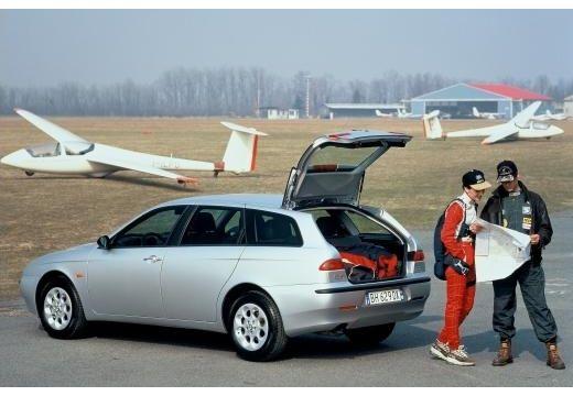 ALFA ROMEO 156 Sportwagon I kombi silver grey tylny lewy