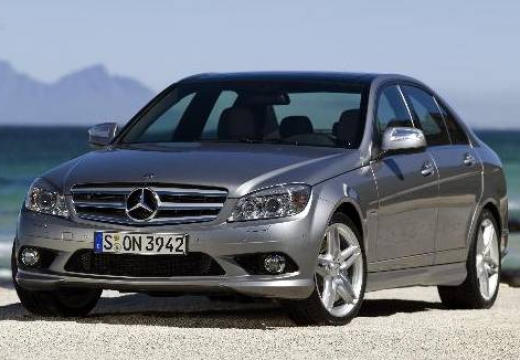 MERCEDES-BENZ Klasa C W 204 I sedan silver grey