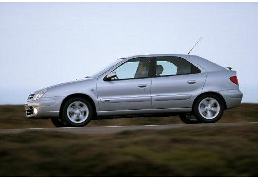 CITROEN Xsara II hatchback silver grey boczny lewy