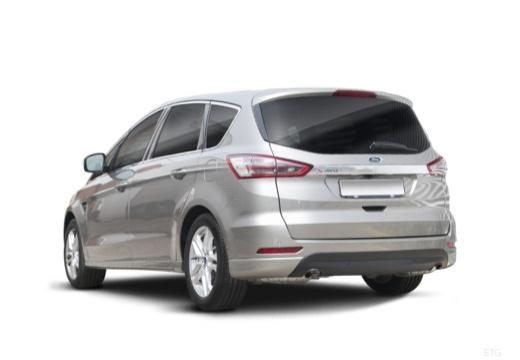 FORD S-MAX van silver grey tylny lewy