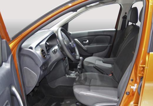 DACIA Sandero III hatchback wnętrze