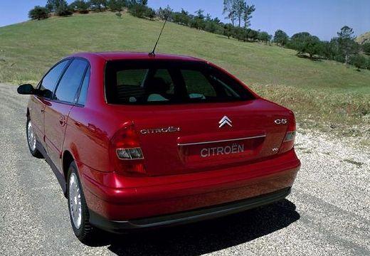 CITROEN C5 I hatchback czerwony jasny tylny lewy