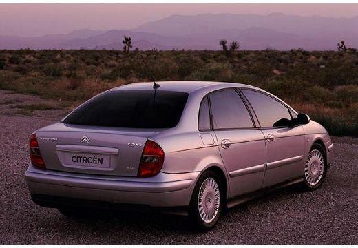CITROEN C5 I hatchback silver grey tylny prawy