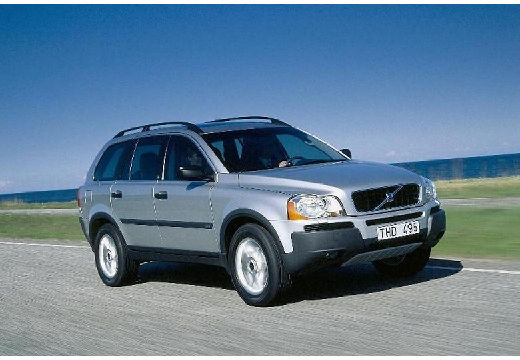 VOLVO XC 90 kombi silver grey przedni prawy