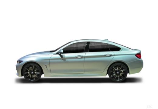 BMW Seria 4 Gran Coupe F36 II hatchback boczny lewy
