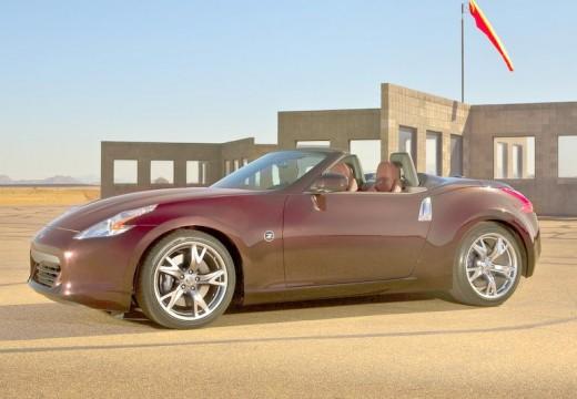 NISSAN 370 Z roadster bordeaux (czerwony ciemny) przedni lewy
