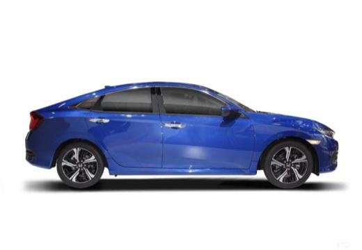 HONDA Civic IX sedan boczny prawy