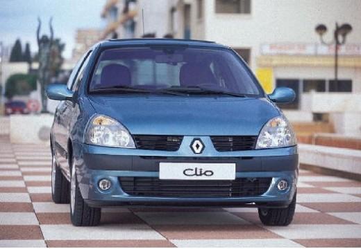 RENAULT Clio II III hatchback niebieski jasny przedni prawy