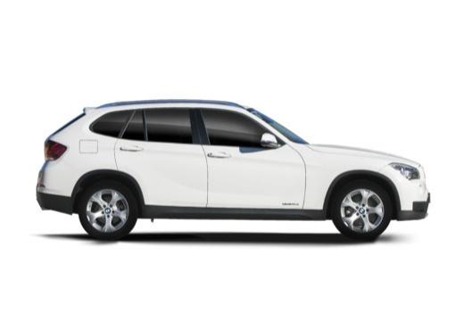 BMW X1 X 1 E84 II kombi biały boczny prawy