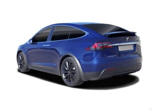 TESLA Model X I hatchback tylny lewy